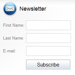 Out-of-the-box newsletter subscription form