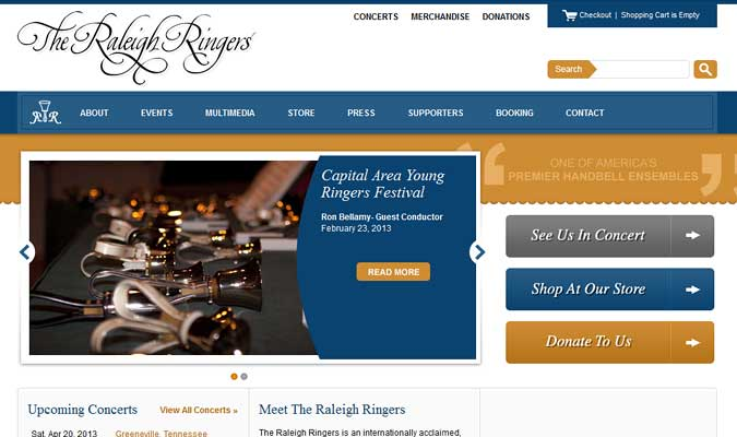 Raleigh Ringers Website